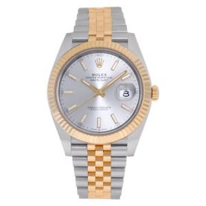 Rolex Datejust 41 126333 18k & steel 41mm auto watch