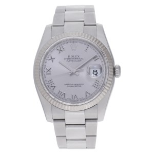 Rolex Datejust 116234 Stainless Steel Silver dial 36mm Automatic watch