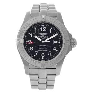 Breitling Avenger E17370 Titanium Black dial 44mm Automatic watch