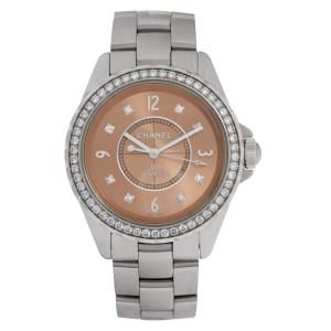 Chanel J12 H2564 ceramic 38.5mm auto watch