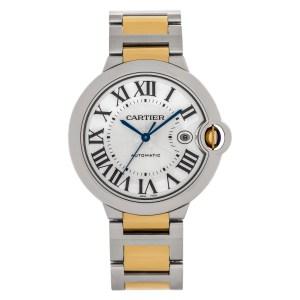 Cartier Ballon Bleu CRW2BB0022 18k & steel 44mm auto watch