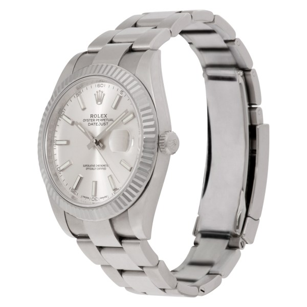 Rolex Datejust II 126334 Stainless Steel Silver dial 40mm Automatic watch