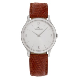 Jaeger LeCoultre Classic stainless steel 33.5mm Manual watch