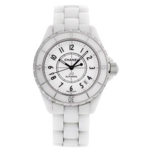 Chanel J12 J12 stainless steel & ceramic 39mm auto watch