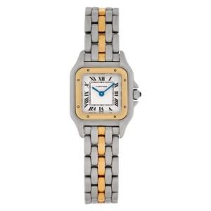 Cartier Panthere 1120 2 18k & steel 21mm Quartz watch