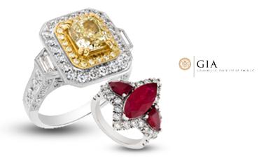GIA Diamond Rings
