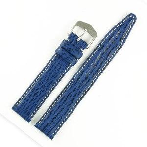 Tag Heuer blue shark strap (17x15)