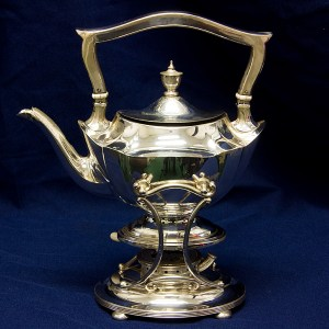 Gorham Plymouth Antique Sterling Tea Kettle 39.93 oz troy
