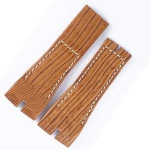Roger Dubuis Easy Diver Style SE46 long  tanTeju lizard strap (27x21).