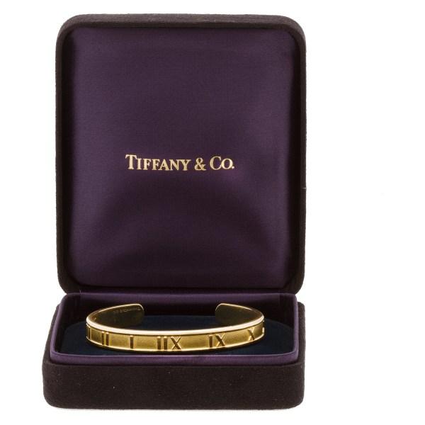 Tiffany & Co. Atlas bangle in 18k