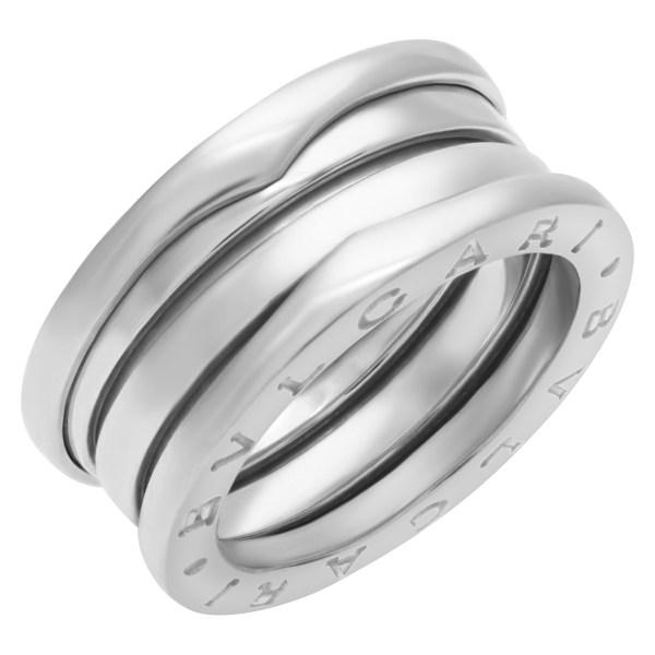 Bvlgari B-Zero 1 3-Band ring in 18k white gold