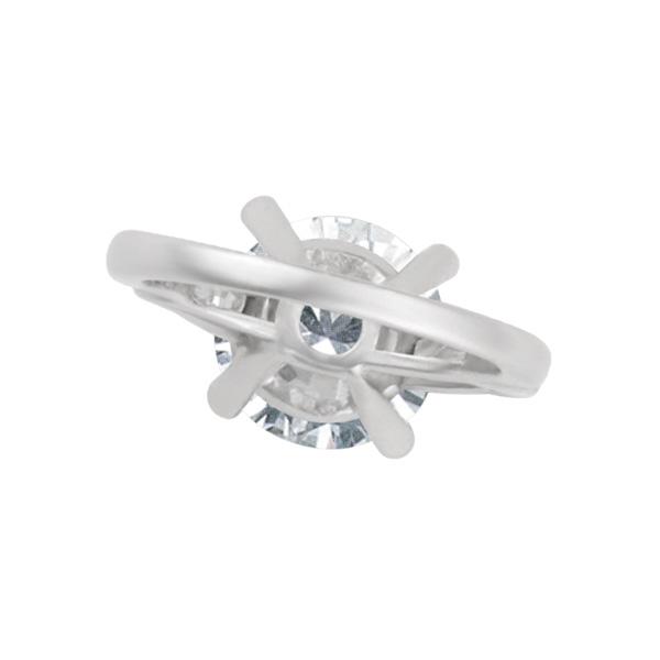 Gia Certified Round Brilliant Diamond 5.01cts (F Color Vs-2 Clarity)