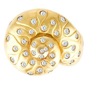 Paola Ferro Snail ring