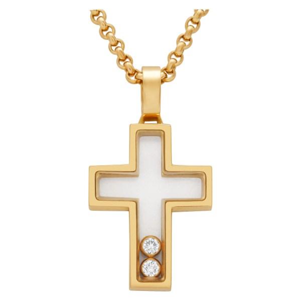 Chopard Happy Diamond Cross in 18k