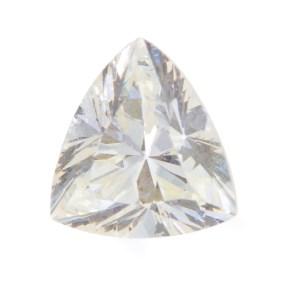Triangle shaped diamond 0.54 ct (K color, VS1 clarity)