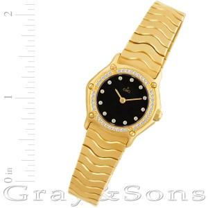 Ebel Sportwave 1898 18k 23mm Quartz watch