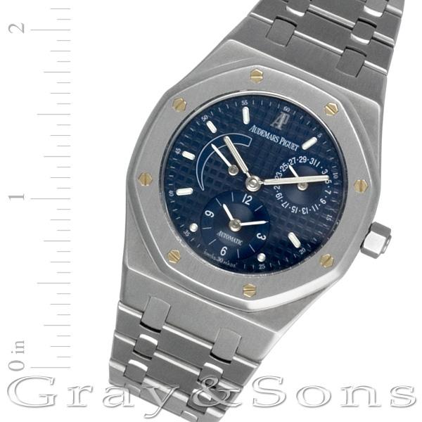 Audemars Piguet Dual Time E-34061 stainless steel 36mm auto watch