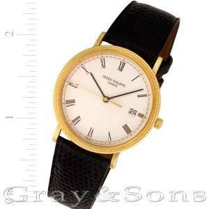 Patek Philippe Calatrava 3944 18k 33mm Quartz watch