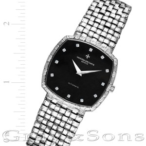 Vacheron Constantin 43005 18k white gold 31mm auto watch