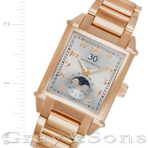Girard Perregaux Vintage 1945 2580 18k pink gold 31mm auto watch