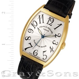 Franck Muller Curvex 6850 SC 18k 34mm auto watch