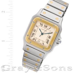 Cartier Santos W20011C4 18k & steel 29mm Quartz watch