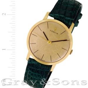 Corum 51116 18k 32mm Manual watch
