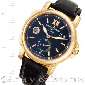 Ulysse Nardin GMT-Master II 246-55 18k 42mm auto watch