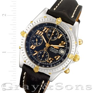 Breitling Chronomat B13050.1 stainless steel 38mm auto watch
