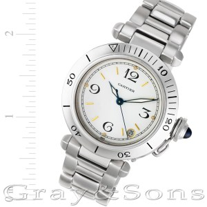 Cartier Pasha W31074M7 stainless steel 35mm auto watch