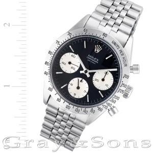 Rolex Daytona 6239 stainless steel 38mm Manual watch