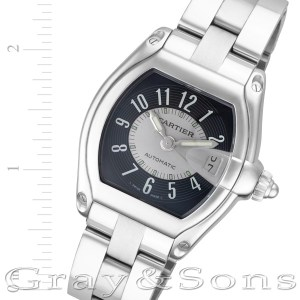 Cartier Roadster W62004V3 stainless steel 36mm auto watch