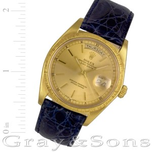 Rolex Day-Date 18078 18k 36mm auto watch