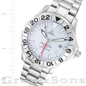 Omega Seamaster 25382000 stainless steel 41mm auto watch