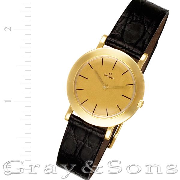 Omega 14k 28mm Manual watch