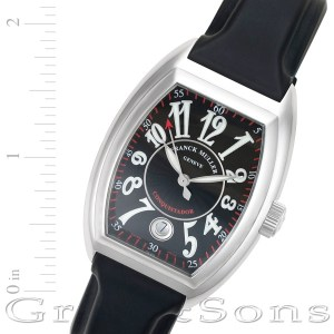 Franck Muller Conquistador 8002sc stainless steel 34mm auto watch