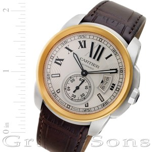 Cartier Calibre w7100039 stainless steel 42mm auto watch
