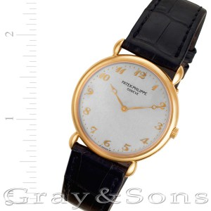 Patek Philippe Calatrava 3820 18k rose gold 32mm Manual watch
