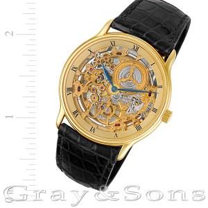 Audemars Piguet Skeleton 227077 18k 34mm auto watch