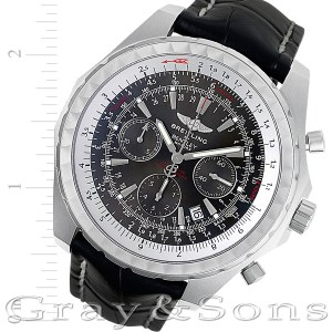 Breitling Bentley A25363 stainless steel 48mm auto watch