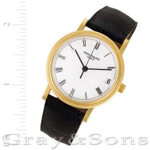 Patek Philippe Calatrava 3802/200 18k 36mm auto watch