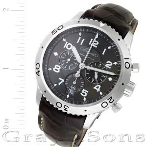 Breguet Type XXI 3810 stainless steel 43mm auto watch