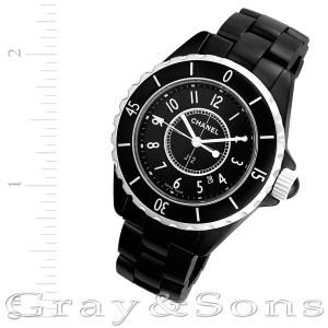 Chanel J12 H0968 stainless steel 34mm Quartz watch