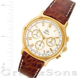 Ebel 1911 64100360 18k mm auto watch