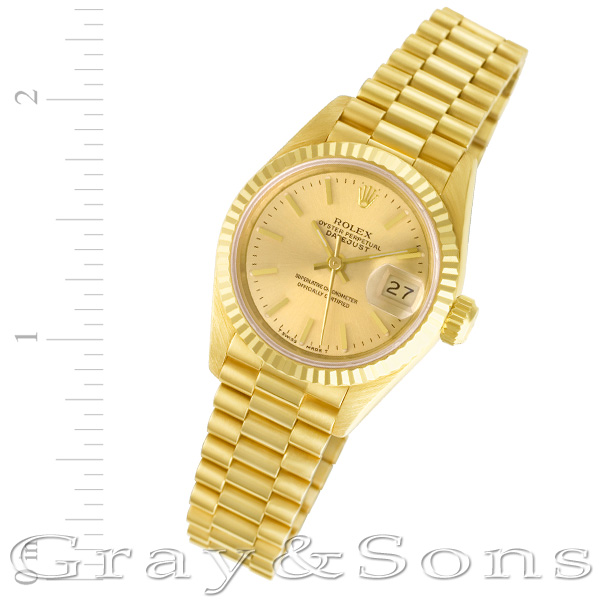 Rolex Datejust 69178 18k 26mm auto watch