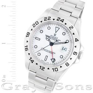 Rolex Explorer II 16570 stainless steel 38mm auto watch