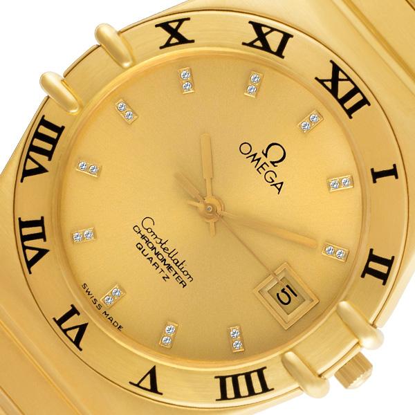 Omega Constellation 18k yellow gold 32mm Quartz watch