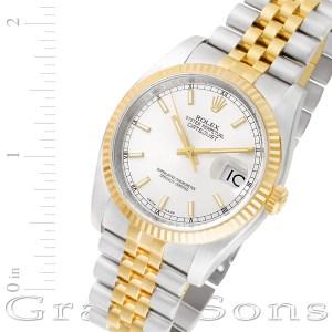 Rolex Datejust 116233 18k & steel 36mm auto watch