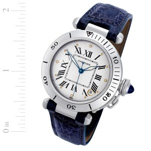 Cartier Pasha stainless steel 36mm auto watch