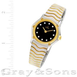 Ebel Sportwave 11669703 18k & steel 23mm Quartz watch